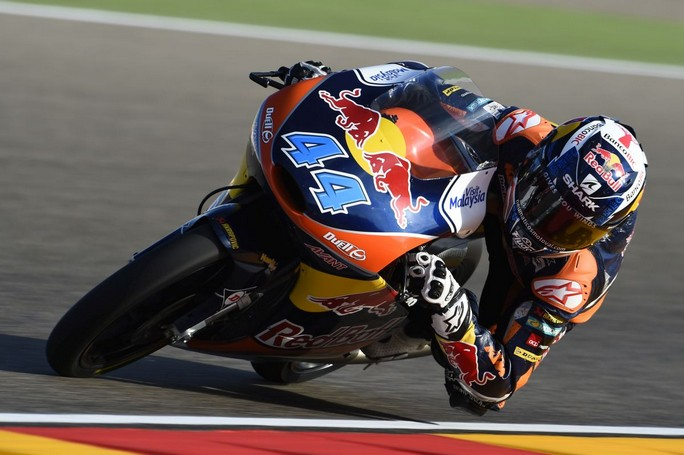 Moto3 Aragon: Vince Oliveira, a terra Bastianini e Kent, Fenati a podio