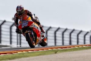 MotoGP Aragon: Pedrosa fa sue le FP4, Rossi è sesto