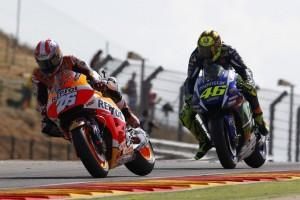 """MotoGP Aragon: Dani Pedrosa, """"Grande duello con Valentino"""""""