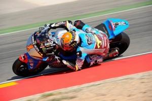 Moto2 Aragon, Warm Up: Rabat davanti a Lowes e Zarco