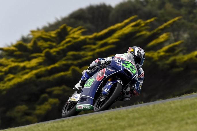 Moto3: delusione per Bastianini 29° e Locatelli 32°