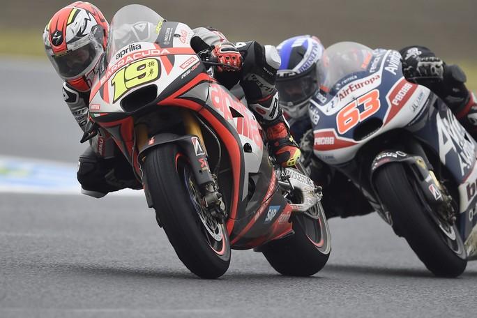Moto3 Motegi: la pioggia vanifica i miglioramenti Aprilia