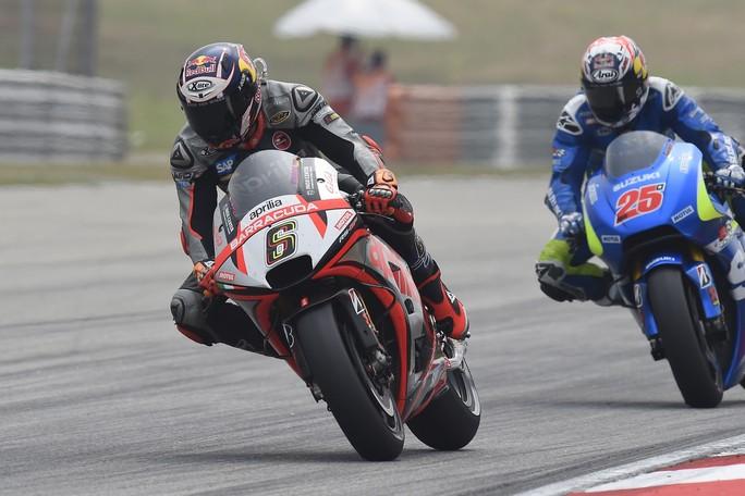 MotoGP: Aprilia record stagionale, Bradl 10° e Bautista 14°