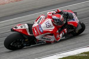 """MotoGP: Dovizioso out, """"Crutchlow mi ha fatto perdere l'anteriore"""""""
