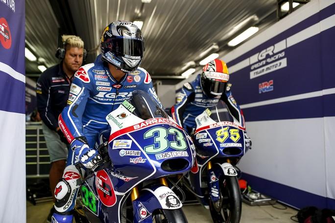 Moto3: Bastianini alla caccia del 2° posto, Locatelli dolorante
