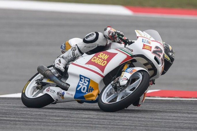 Moto3: ottimo Manzi 16°, Pagliani più indietro