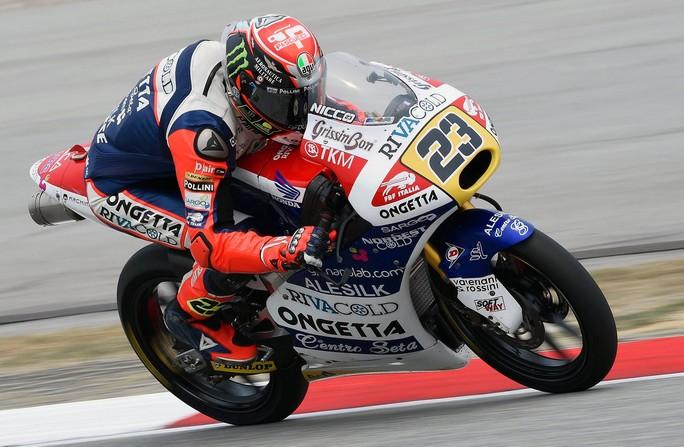 Moto3 Sepang: Straordinaria pole per Niccolò Antonelli