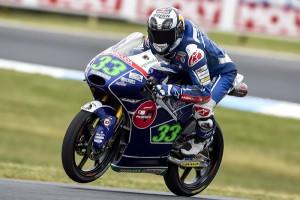 Moto3 Phillip Island: Inizio in salita per Bastianini e Locatelli