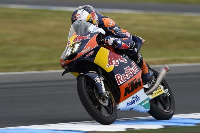 Moto3 Phillip Island, Prove Libere 3: Binder è il più veloce, indietro gli italiani
