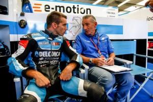 MotoGP: Alex de Angelis, trauma cranico e frattura lieve di 5 vertebre e di tre costole