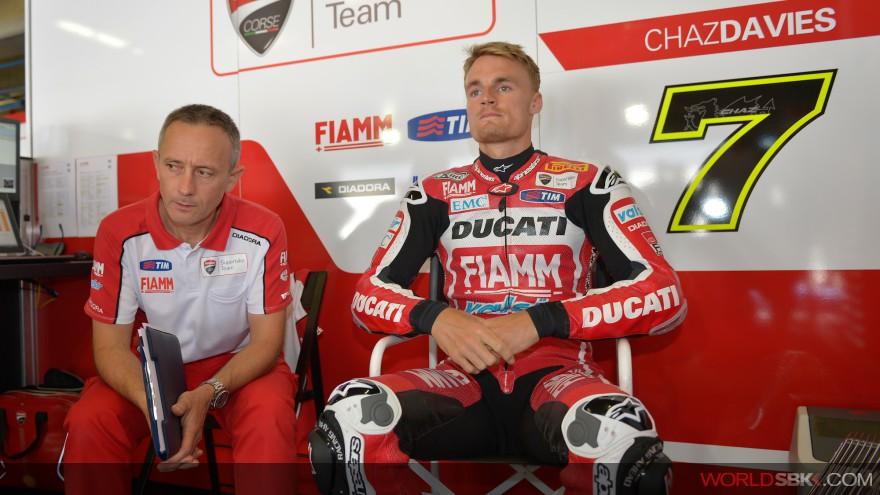 Superbike: Il meteo frena i test Kawasaki e Ducati ad Aragon