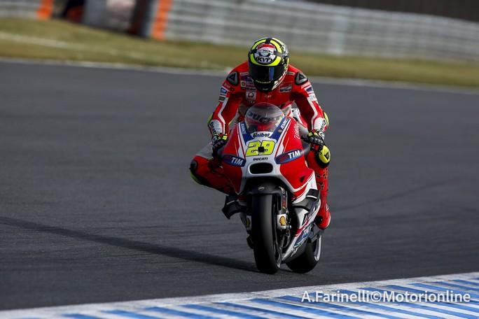 """MotoGP Motegi : Andrea Iannone, """"In qualifica potevamo fare meglio"""""""