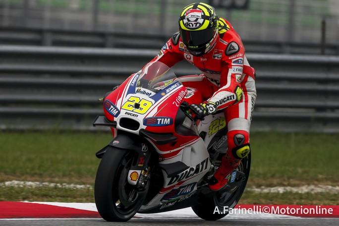 """MotoGP Sepang: Andrea Iannone, """"Difficile fare di più, ma abbiamo un buon passo gara"""""""