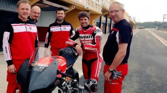 Superbike: Checa completa tre giorni di test con la Panigale R