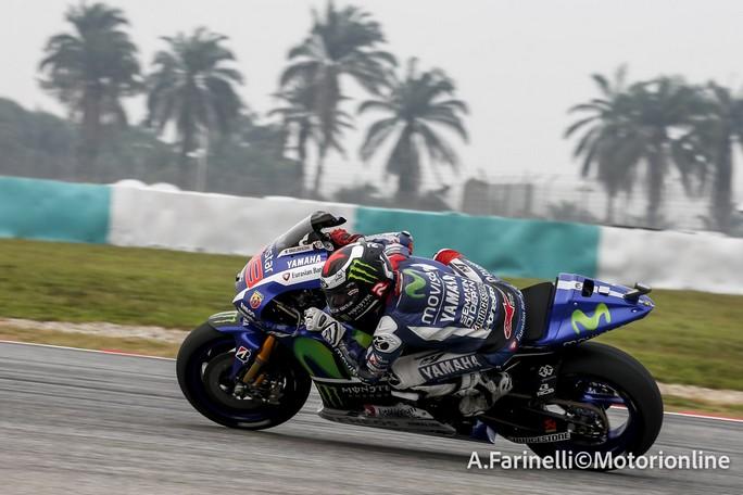"""MotoGP Sepang: Jorge Lorenzo, """"Ho avuto problemi ai freni, peccato perdere la prima fila"""""""