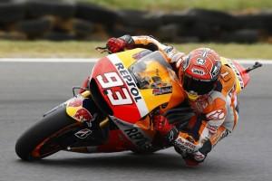 MotoGP Phillip Island, Prove Libere 3: Marquez domina, Rossi è settimo