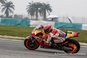 """MotoGP Sepang: Marc Marquez, """"Gran giro di Dani, domani in gara daremo il 100%"""""""