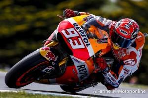 MotoGP Phillip Island, Warm Up: Marquez davanti a Lorenzo e Iannone, Rossi è sesto