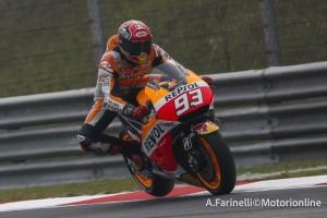 MotoGP Sepang, Warm Up: Marquez davanti a Lorenzo e Rossi