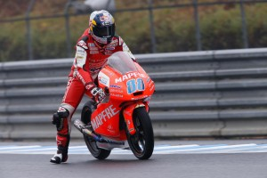 Moto3 Motegi, Warm Up: Sotto la pioggia svetta Martin