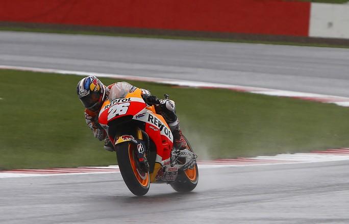 """MotoGP Motegi: Dani Pedrosa, """"E' stata una gara difficile, contento della vittoria"""""""