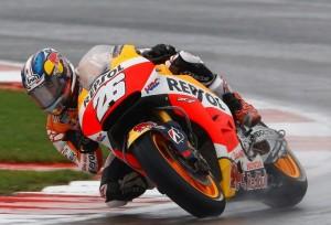 MotoGP Motegi, Warm Up: Con le rain Pedrosa precede Lorenzo e Rossi