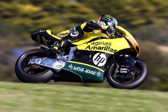Moto2 Phillip Island, Warm Up: Rins precede Lowes e Zarco