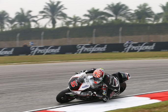 Moto2 Sepang, Prove Libere 3: Zarco, record e caduta