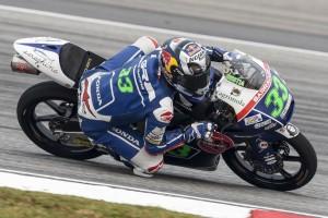 Moto3: Bastianini difenderà il 3° posto, debutto mondiale per Di Giannantonio