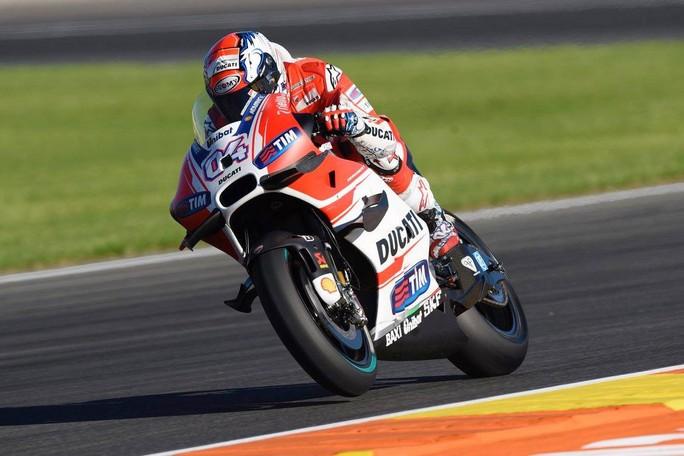 """MotoGP: Dovizioso 7°, """"Il feeling con la moto non è ottimo"""""""