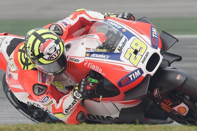 """MotoGP: Iannone 4°, """"Sono contento del passo di oggi pomeriggio"""""""