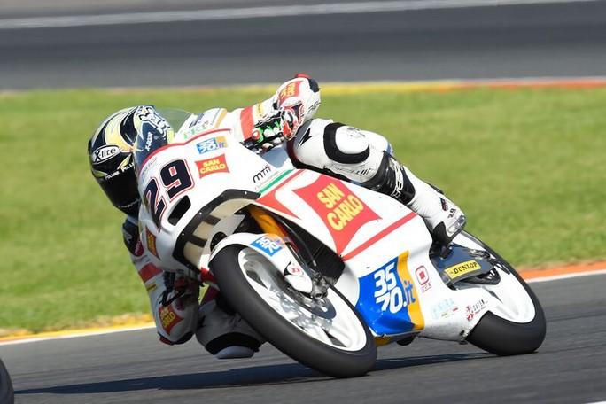 Moto3: Stefano Manzi 19° e Manuel Pagliani 25°