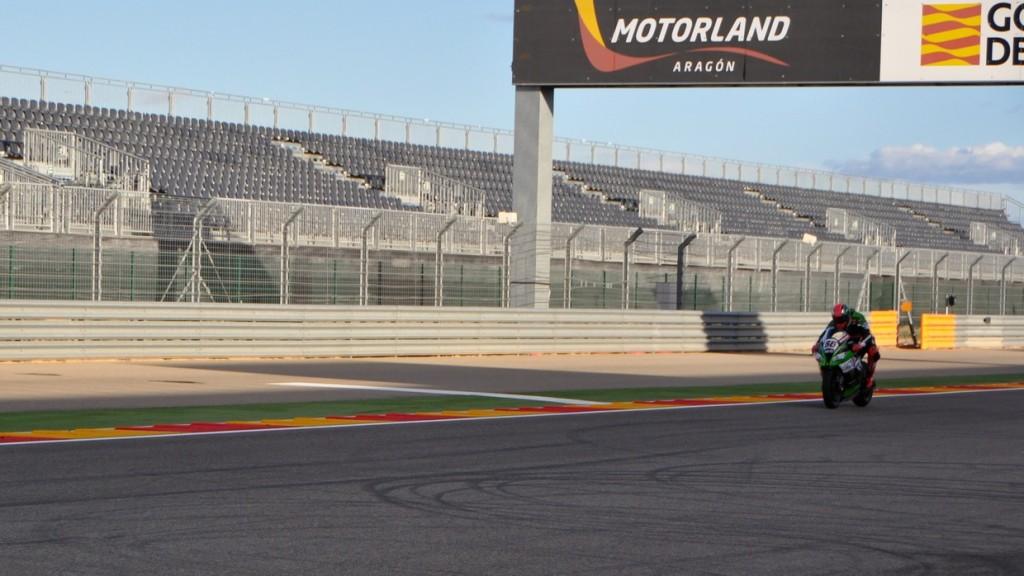 Superbike: Conclusa un'altra due giorni di test ad Aragon