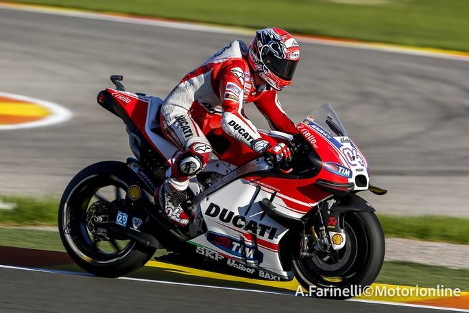 """MotoGP Test Valencia: Andrea Dovizioso, """"E' stato un test importante per capire le Michelin"""""""
