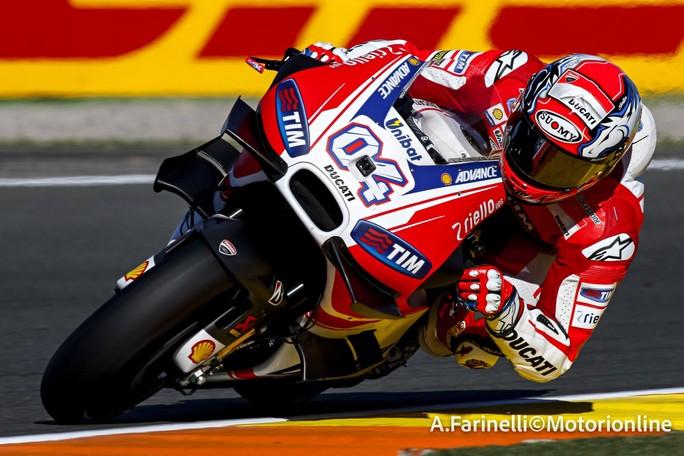 """MotoGP Valencia: Andrea Dovizioso, """"Al momento non ho feeling per spingere"""""""