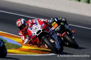 MotoGP Valencia: Chiude con l'amaro in bocca la stagione il team Ducati