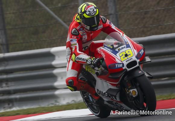 """MotoGP: Andrea Iannone, """"Quella di Valencia è una pista favorevole alla Ducati"""""""