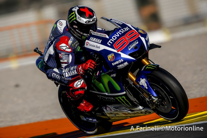 """MotoGP Test Valencia Day 1: Jorge Lorenzo, """"E' stato fantastico tornare in pista da campione del mondo"""""""