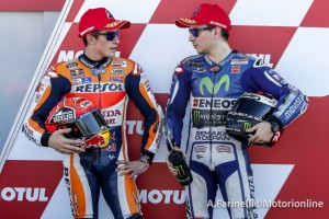 """MotoGP Valencia: Marc Marquez """"Le parole di Rossi sono un insulto per uno come me"""""""