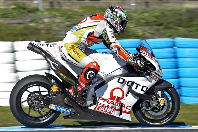 """MotoGP Test Jerez: Danilo Petrucci, """"Il feeling con la moto è cresciuto molto"""""""