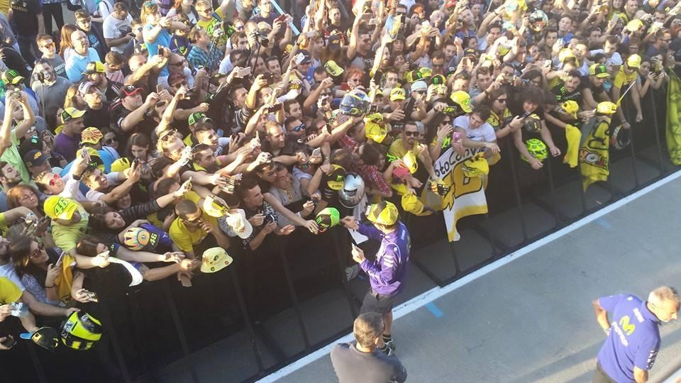 """MotoGP Valencia: Valentino Rossi, """"Più che arrabbiato sono deluso"""""""