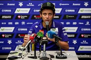 """MotoGP Valencia: Valentino Rossi, """"E' stato un biscottone di basso livello"""""""