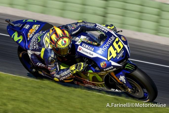 """MotoGP Test Valencia: Valentino Rossi, """"Il secondo giorno di test è stato molto positivo"""""""
