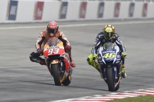 """MotoGP: Valentino Rossi, """"Il rapporto con Marquez? Non sono preoccupato per il 2016"""""""
