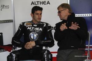 Superbike: Torres in pista a Vallelunga con la BMW