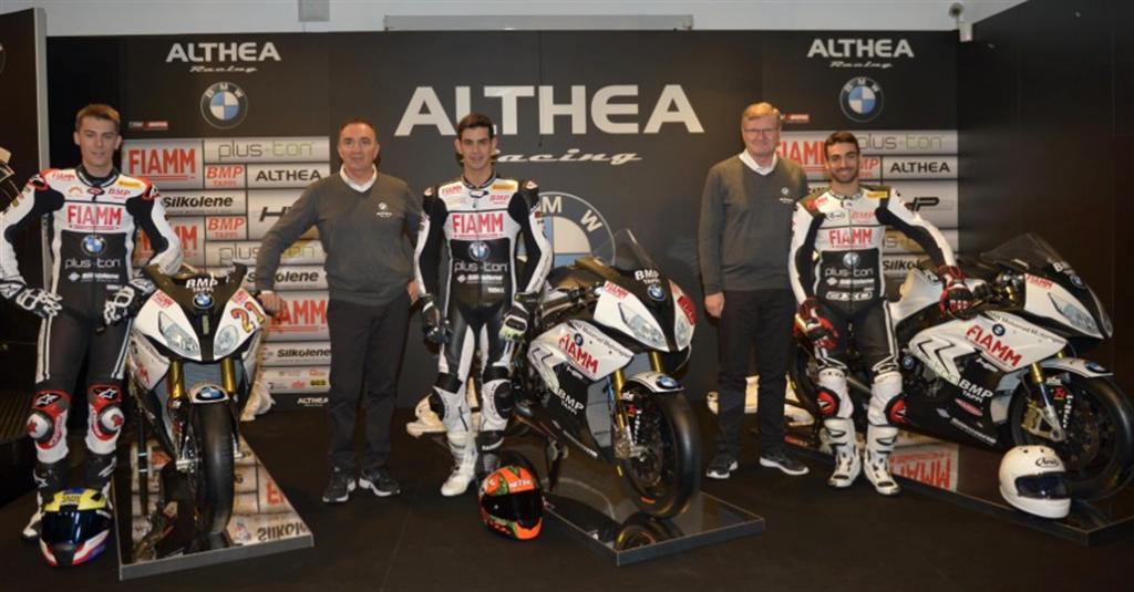 Superbike: Debutto stagionale per il nuovo team Althea BWM