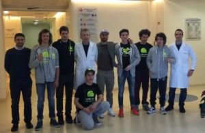 """VR46 Academy: Per i """"ragazzi"""" di Valentino Rossi test all'Ecomedica"""