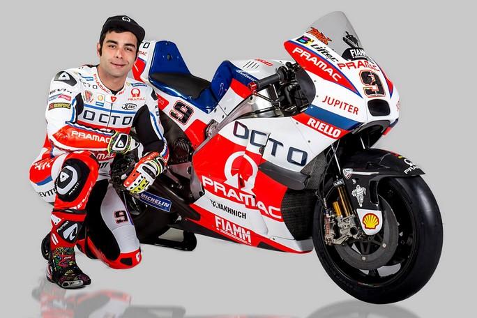 """MotoGP: Danilo Petrucci, """"Sono pronto a dare il massimo"""""""