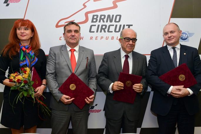 MotoGP: Si correrà a Brno fino al 2020