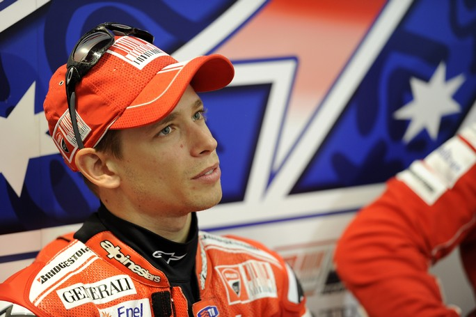 """MotoGP: Casey Stoner, """"Dopo i test decideremo se fare qualche gara"""""""